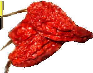 Sun Dried Bhut Jolokia