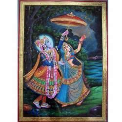 Attractive Radha Krishna Painting