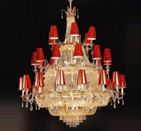 Copper Crystal Chandeliers in New Alipore, Kolkata - Manufacturer
