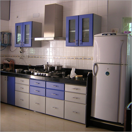 Modular Kitchen in Rajkot, Gujarat, India - ACCURATE WOOD WORKS ...