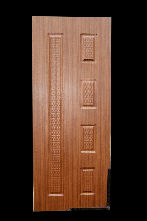 Embossed membrane doors in gnt market indore manufacturer for Kail wood doors designs