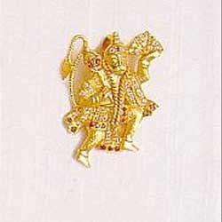 Hanuman Gold Locket