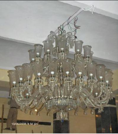 Mughal style elegant cut glass chandeliers in delhi delhi nice mughal style elegant cut glass chandeliers in inderlok aloadofball Choice Image