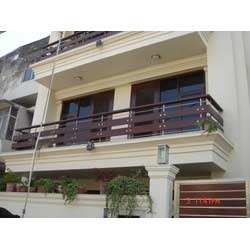 Stainless steel front balcony railings in wazirpur indl for Terrace railings design philippines