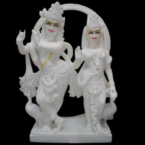 Marble Radha Krishna Statues In Jaipur Rajasthan Jai