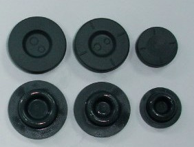 Ptfe Coated Medical Rubber Stoppers