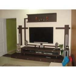 Hall tv unit services in thergaon pune kam designer for Decor zone tv unit
