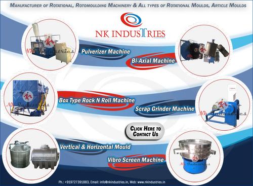 Roto Plastic Water Tank Plant
