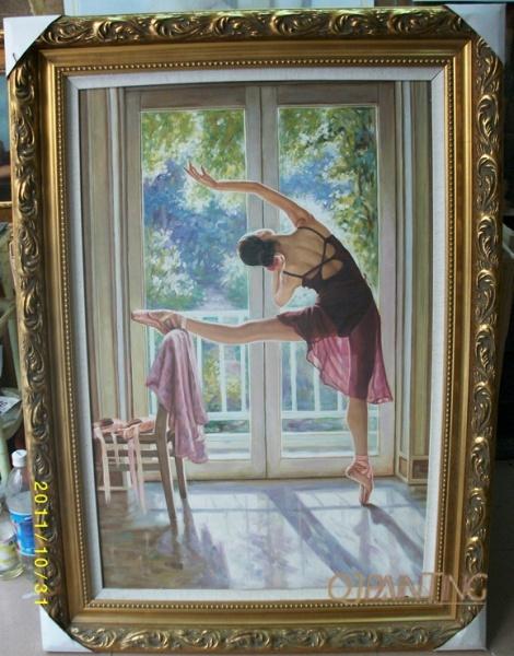 Dancer Oil Paintings