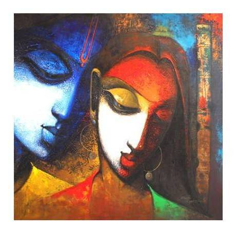 indian abstract oil paintings - photo #34