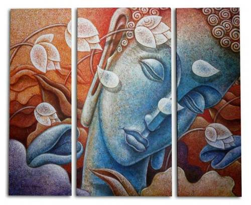 Acrylic Canvas Paintings in Malad (W), Mumbai | Corporate Art India