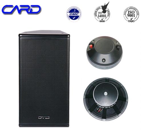 15 Inch Professional Audio Loudspeaker