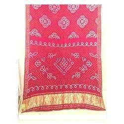 Red Banarasi Silk Gharchola