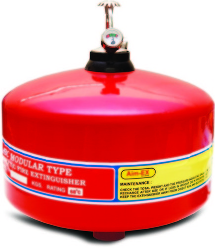 Automatic Modular Ceiling Mounted Fire Extinguisher In
