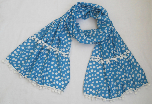 Ladies Scarf (908244-A) in  Janakpuri