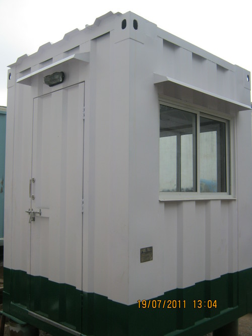 Portable Security Cabin Suppliers Traders Amp Wholesalers