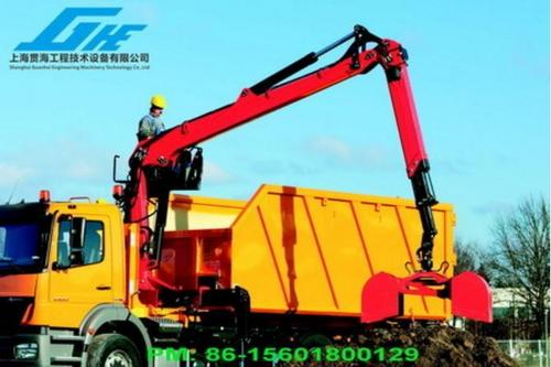 Knuckle Boom Truck Mounted Cranes