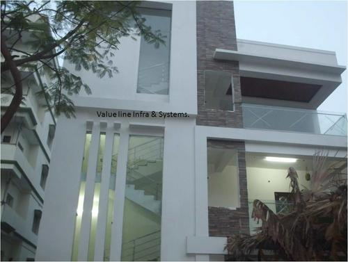 Front Elevation Glass Work : Glass elevation work in bowenpally secunderabad