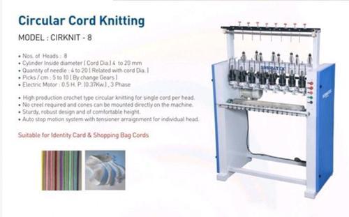 Circular Cord Knitting Machine