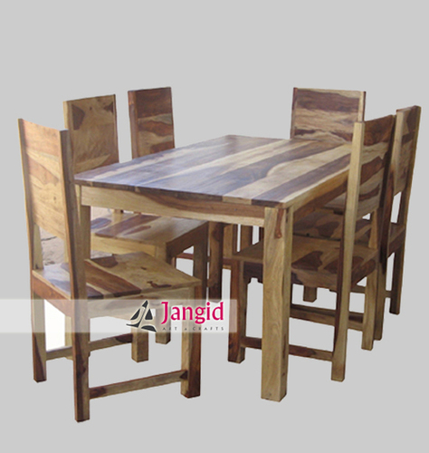 Indian Wooden Dining Table Design
