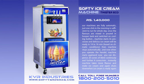 softy machine cost