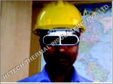 Cobalt Blue Goggle For Radiant Heat Protection