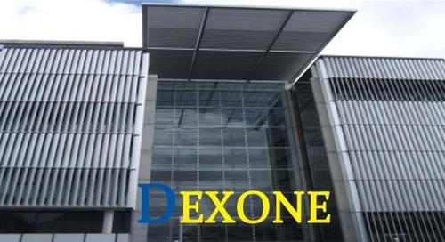 Glass Louver Facade : Motorized aluminium facade louver with glass curtain wall