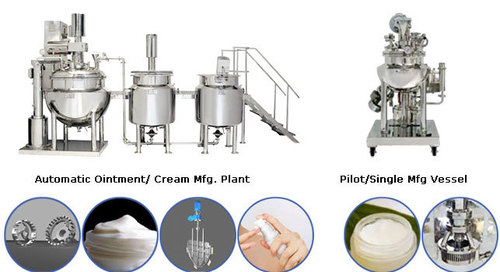 Automatic Ointment And Cream Plant