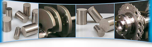 Tungsten Alloy Engine Crankshaft