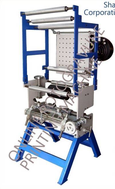 Single Color Online Rotogravure Printing Machine In