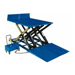 Hydraulic Scissor Low Height Loading Lift Table in  2-Sector