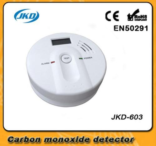 Gold LCD Display Carbon Monoxide Detector
