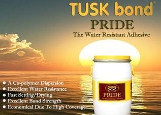 Water Resistant Adhesive (TUSkbond Pride)