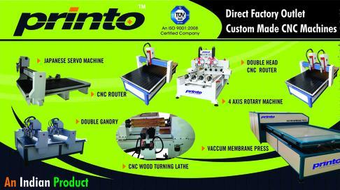 CNC Woodcarving Machines in Gobichettipalayam, Erode | Printo ...