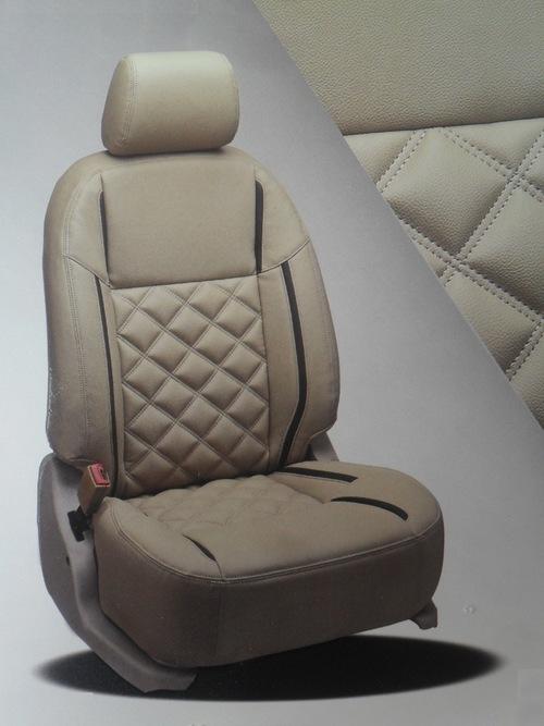 black and beige color car seat in new delhi delhi s r car seat cover. Black Bedroom Furniture Sets. Home Design Ideas