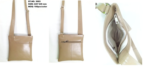 Real Leather Crossbody Bag