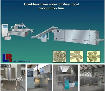 TVP Textured Vegetable Protein Food Machine