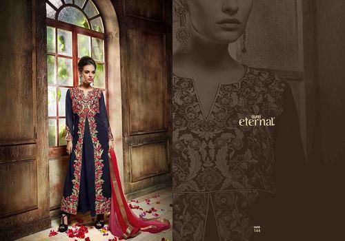 Georgette Designer Suit in  Adarsh Market (Rr)