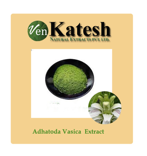 Adhatoda Vasica Dry Extract Shelf