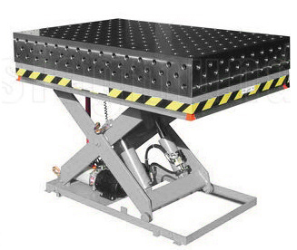 3d Welding Table Hydraulic Scissor Lifter In Jimei District Xiamen Exporter And Manufacturer