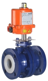 Lined Ball Valve Electrically Actuated