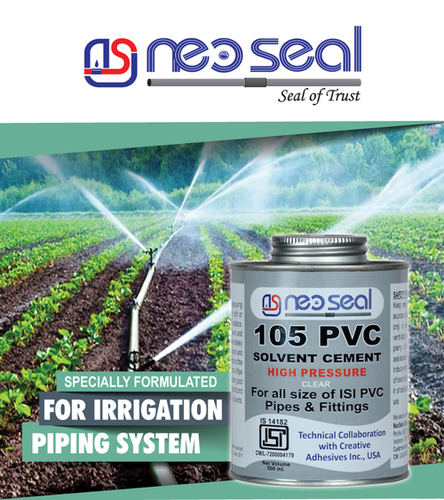 IRRIGATION PVC SOLVENT CEMENTS