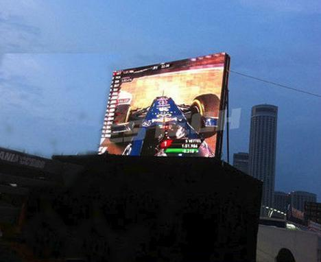 P12 Commercial Advertising LED Display