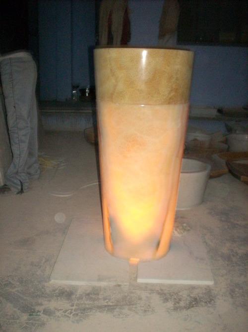 Onyx Pedestal Wash-Basin in  Bais Godaam (Bg)