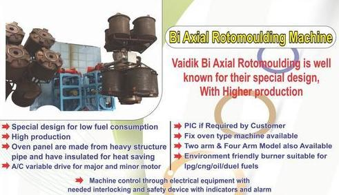 Bi Axial Rotomoudling Machine