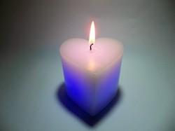 Heart Shaped Led Candle