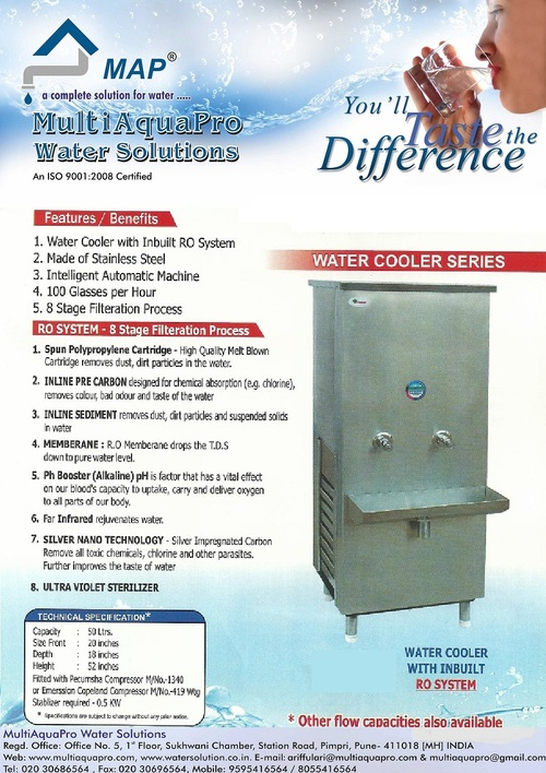RO Water Dispenser/Cooler