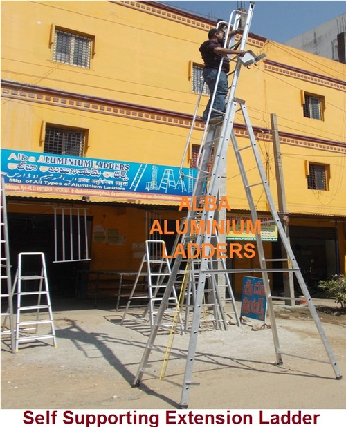 Self Suppord Extension Ladder