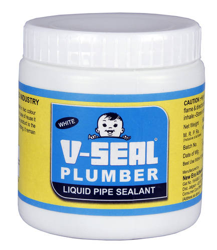 V-Seal Plumber White Liquid Pipe Sealants