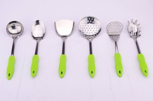 Colorful Stainless Steel Cookware Tool Set